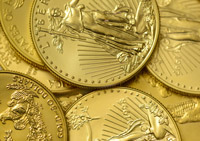 Gold coins, a rare precious metal to geologists and chemists and a symbol of value for economists and the worlds banks