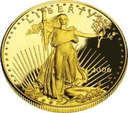 1ozt Gold American Eagle