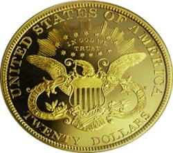 1ozt $20 Liberty Double Eagle
