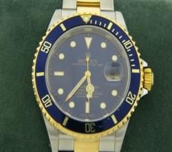 Early 2000 Rolex two Tone 18K Submariner